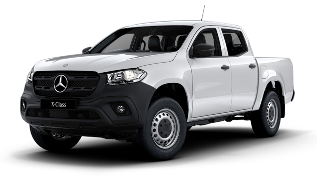 X250d PURE Dualcab 4MATIC Cab Chassis 7AT