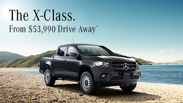 Mercedes-Benz X-Class Pure July 18 Offer